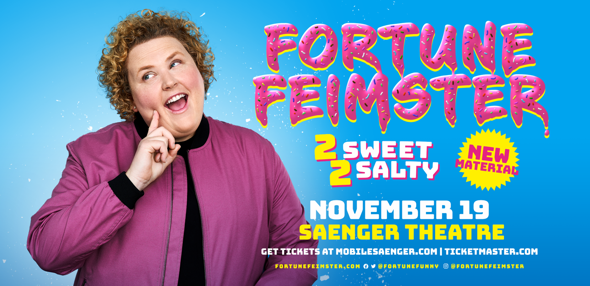 Fortune Feimster - 2 Sweet 2 Salty Tour