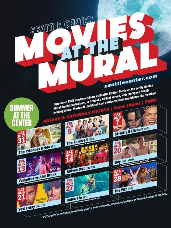 Movies at the Mural 2021